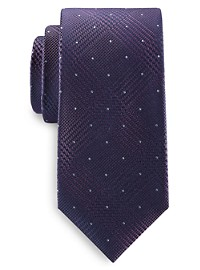 Michael Kors Dotted Glen Check Tie