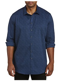 Perry Ellis Stretch Speckled Sport Shirt