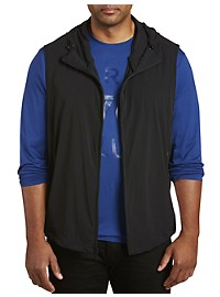 Perry Ellis Stretch Hooded Tech Vest