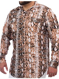 MVP Collections Python-Print Sport Shirt