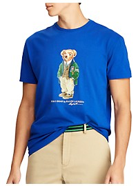 Polo Ralph Lauren Sweater Bear Graphic T-Shirt