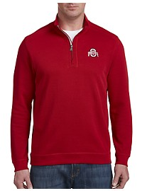 Cutter & Buck Collegiate Ohio State Half-Zip Pullover