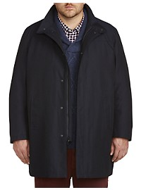 Kenneth Cole Lined Raincoat