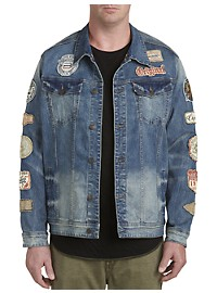 Buffalo David Bitton Joe Patch Denim Jacket