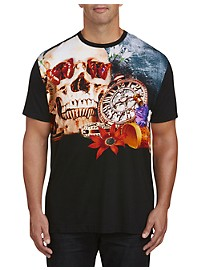 Robert Graham Pocket Watch Graphic Tee