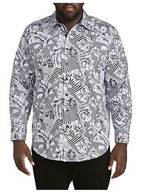 Robert Graham Bellamy Print Sport Shirt