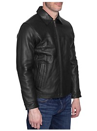 Perry Ellis Leather Jacket