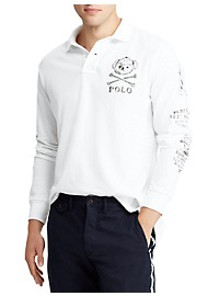Polo Ralph Lauren Long-Sleeve Polo Bear Rugby