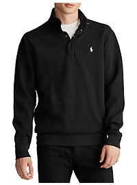Polo Ralph Lauren Double Knit 1/2-Zip Pullover