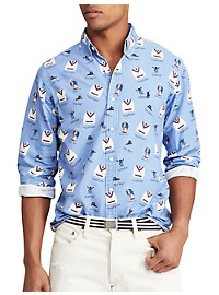 Polo Ralph Lauren Boathouse Print Oxford Sport Shirt