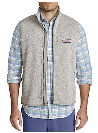 Vineyard Vines Fleece Shep Shirt Vest