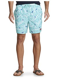 Vineyard Vines Island Map Chappy Swim Trunks