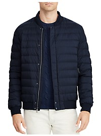 Polo Ralph Lauren Packable Down Varsity Jacket