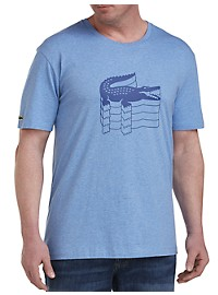 Lacoste Croc Animation Graphic Tee