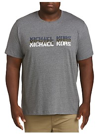 Michael Kors Staggered Stencil Graphic T-Shirt