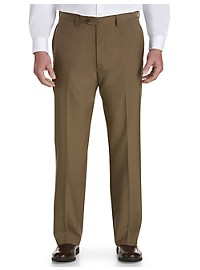 Haggar® E-CLO Flat-Front Dress Pants