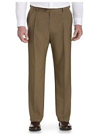 Haggar® E-CLO Pleated Dress Pants