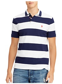 Polo Ralph Lauren Stripe Mesh Polo Shirt