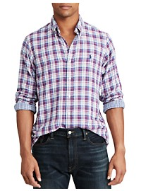 Polo Ralph Lauren Double Face Plaid Sport Shirt