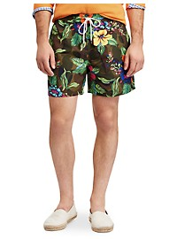 Polo Ralph Lauren Camo Traveler Swim Trunks