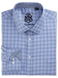 English Laundry Plaid Dress Shirt
