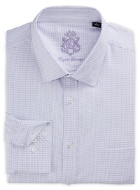 English Laundry Textured Check Dress Shirt