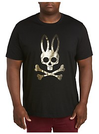Psycho Bunny Foil Graphic Tee