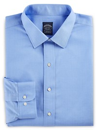 Brooks Brothers Non-Iron Dot Dobby Dress Shirt