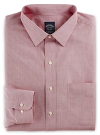 Brooks Brothers Non-Iron Broadcloth Dress Shirt