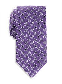 Brooks Brothers Twill Paisley Tie