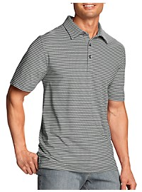 Cutter & Buck CB DryTec Stripe Polo Shirt
