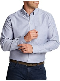 Cutter & Buck Oxford Solid Stretch Sport Shirt