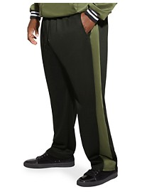 MVP Collections Stretch Stripe Track Pants