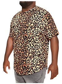 MVP Collections Animal Print T-Shirt