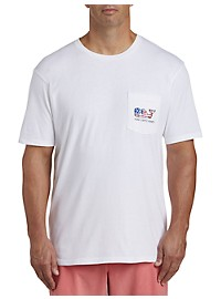 Vineyard Vines Flag Whale Graphic Tee