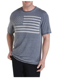 Lucky Brand American Flag Graphic Tee
