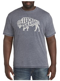 Lucky Brand Western Bison Graphic Tee