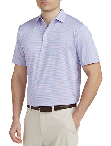 Big & Tall Callaway Space-Dyed Jacquard Polo Shirt