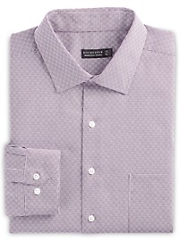 Rochester Crosshatch Plaid Dress Shirt