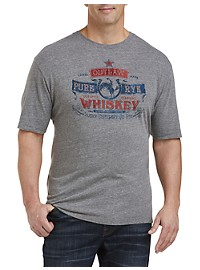 Lucky Brand Outlaw Whiskey Graphic Tee