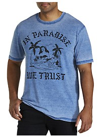 Lucky Brand Paradise Trust Graphic Tee