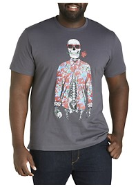 Robert Graham DXL Skeleton Graphic Tee