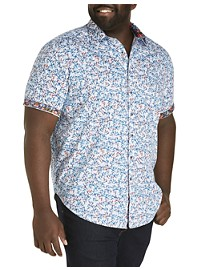Robert Graham DXL Digital Skull Sport Shirt