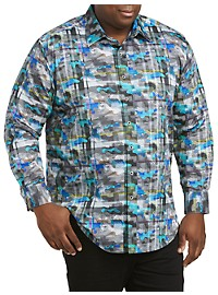 Robert Graham DXL Camo Sport Shirt