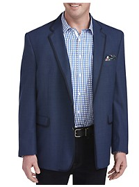 Tallia Orange Pattern Sport Coat