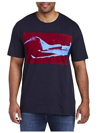 Michael Kors Airplane Graphic Tee 156297436