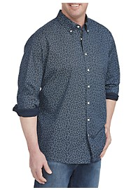 Michael Kors Tonal Paisley Stretch Sport Shirt