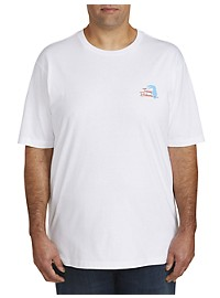 Tommy Bahama Birds Do The Tweeting Graphic Tee
