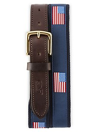 Vineyard Vines Flag Belt
