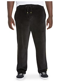 MVP Collections Velour Track Pants